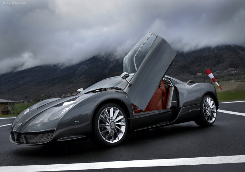 luxury cars galleries the elegant cars of spyker c12 zagato