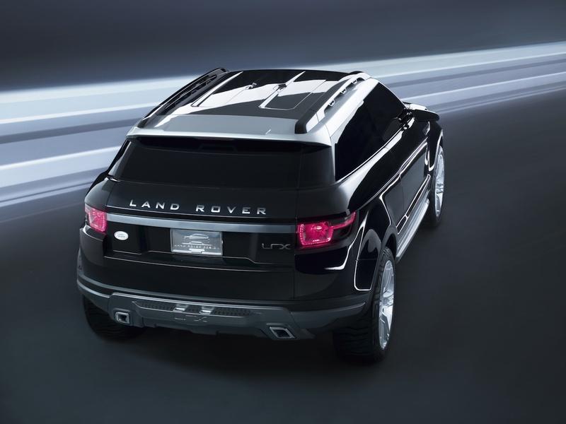 2008 Land Rover Lrx Geneva Concept. As predicted, the LRX shown at