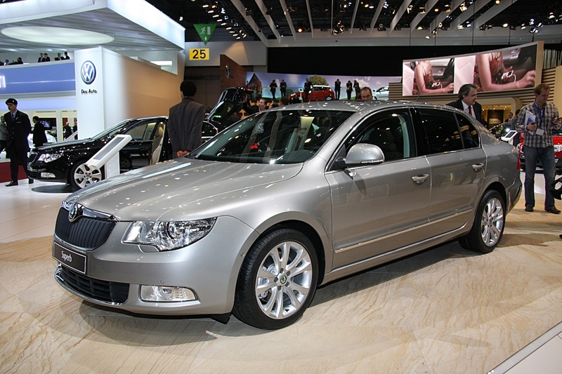 Škoda Superb 4x4 extends