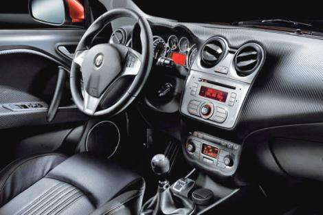 Here is the first unofficial picture of the interior of the Alfa Romeo Mi.
